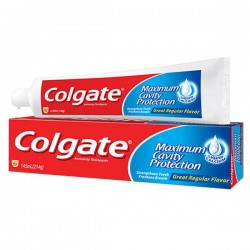 Tube des Dentifrices Colgate Cavity Protection sur Tooly