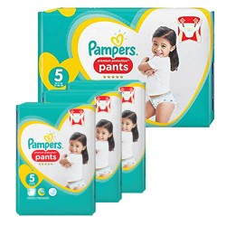 Pack 80 Couches Pampers Premium Protection Pants taille 5 sur Tooly