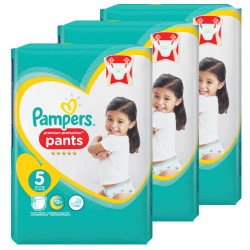 Mega pack 160 Couches Pampers Premium Protection Pants taille 5 sur Tooly