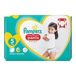 Pack 40 Couches Pampers Premium Protection Pants taille 5 sur Tooly