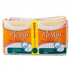 Pack de 36 Serviettes hygiéniques Always Simply Fits taille normal plus sur Tooly