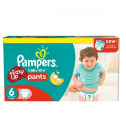 Maxi Pack 114 Couches Pampers Easy Up de taille 6 sur Tooly