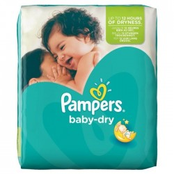 Pack 41 Couches Pampers Baby Dry taille 4+ sur Tooly