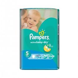 Paquet de 28 Couches Pampers de la gamme Active Baby Dry taille 5 sur Tooly