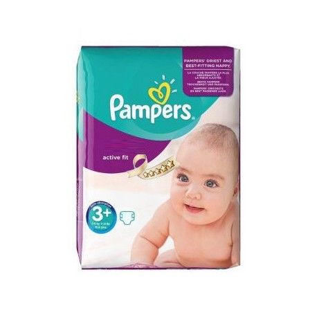 Couches pampers taille 3 70 couches active fit sur tooly - Couches pampers pas cher ...