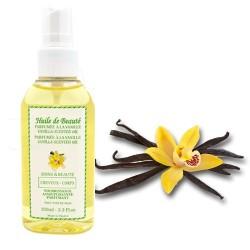 Huile de beauté à la vanille 100% pure et végétale sur Tooly