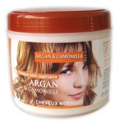 Masque capillaire à l'argan & camomille cheveux normaux sur Tooly