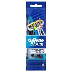 Gillette Blue3 Rasoirs Jetables 8 pc.Edition Football sur Tooly