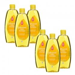 Pack de 6 Shampooings doux bébé Johnson 300 ml sur Tooly