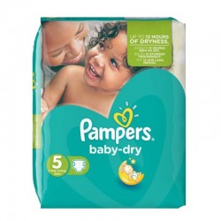 15 Couches Pampers Active Baby Dry taille 3 sur Tooly
