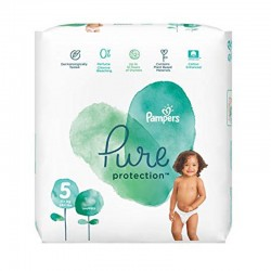 Pack 24 Couches Pampers Pure Protection taille 5 sur Tooly