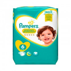 Mega pack 120 Couches Pampers New Baby Premium Protection taille 6 sur Tooly