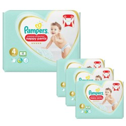Maxi giga pack 376 Couches Pampers Premium Protection Pants taille 4 sur Tooly