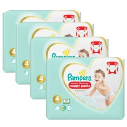 Maxi mega pack 423 Couches Pampers Premium Protection Pants taille 4 sur Tooly