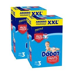 Maxi mega pack 444 Couches Dodot Pants taille 3 sur Tooly