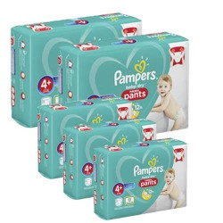 Giga pack 246 Couches Pampers Baby Dry Pants taille 4+ sur Tooly