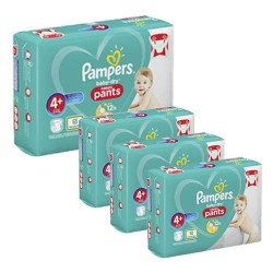 Maxi giga pack 328 Couches Pampers Baby Dry Pants taille 4+ sur Tooly