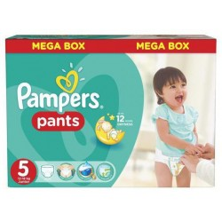 Pack jumeaux 576 Couches Pampers Baby Dry Pants taille 5 sur Tooly