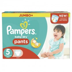 Pack jumeaux 672 Couches Pampers Baby Dry Pants taille 5 sur Tooly