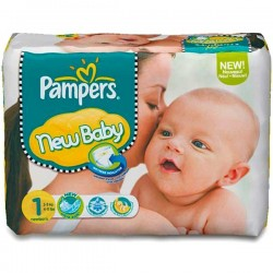 Pack 56 Couches Pampers Premium Protection taille 1 sur Tooly