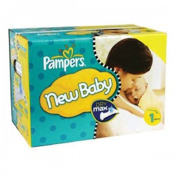 Maxi giga pack 392 Couches Pampers Premium Protection taille 1 sur Tooly