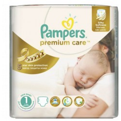 Pack 78 Couches Pampers Premium Care taille 1 sur Tooly