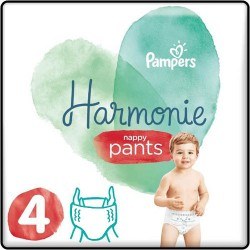 Pack 58 Couches Pampers Harmonie Pants taille 4 sur Tooly