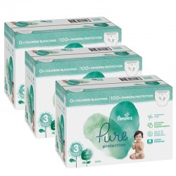 Giga pack 242 Couches Pampers Pure Protection taille 3