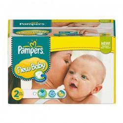Pack d'une quantité de 288 Couches Pampers New Baby Dry de taille 2 sur Tooly