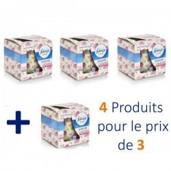 Maxi Pack 4 Bougies Parfumées Febreze Flower Bloom - 4 au prix de 3 sur Tooly