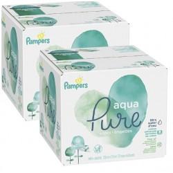 348 384 Lingettes Bébés Pampers Aqua Pure sur Tooly