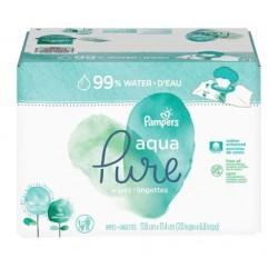 960 Lingettes Bébés Pampers Aqua Pure sur Tooly